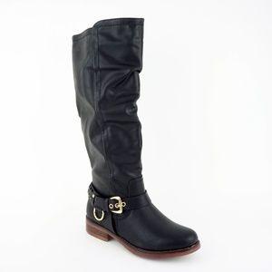 XOXO Women's Mauricia Tall Boots, Black